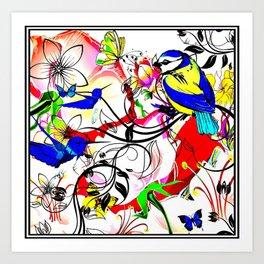 Patternpic1 Art Print