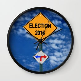 elections 2016 Wall Clock