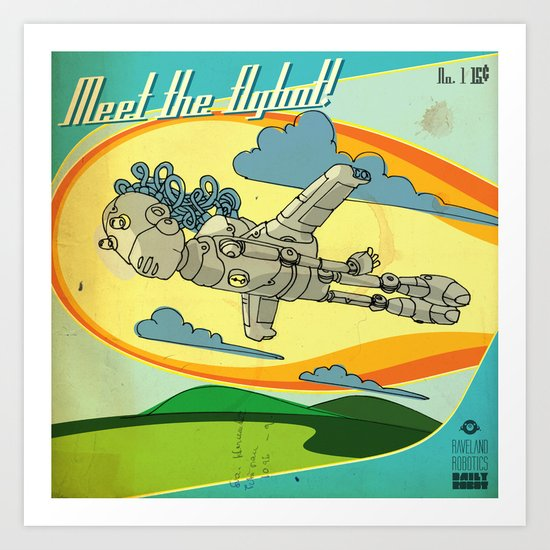 Flybot Art Print