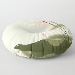 Oriental Lotus 002 Floor Pillow