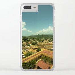 Trinidad Vista Clear iPhone Case