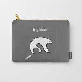 Big Bear Gray Carry-All Pouch