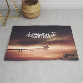 Remember to explore - text version Rug