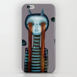 There are creatures in the sky iPhone Skin