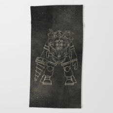 Big Daddy: BioShock Beach Towel