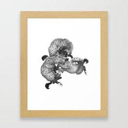Spotted Hyenas Framed Art Print