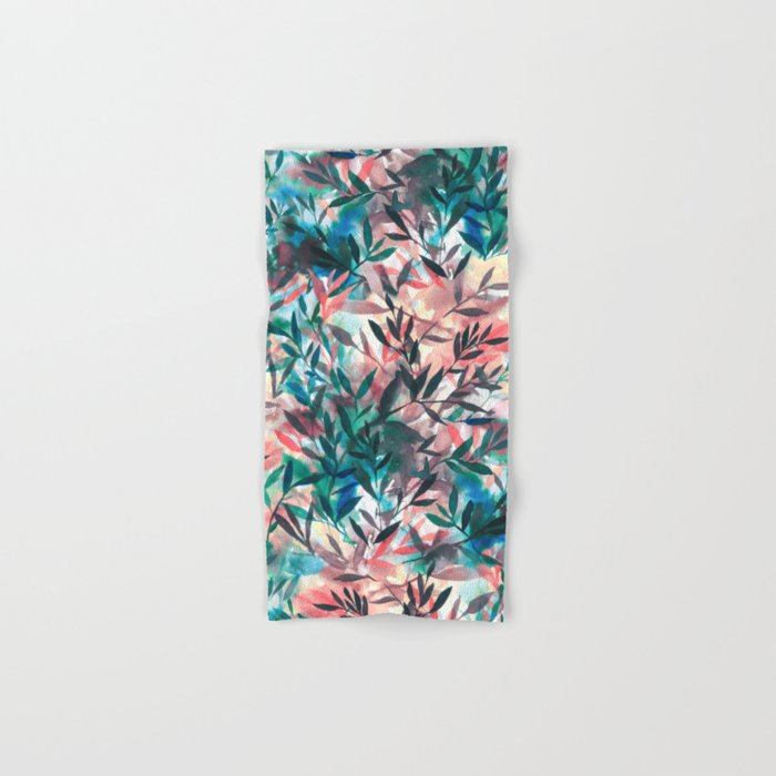 Changes Coral Hand & Bath Towel