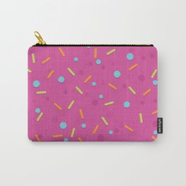Sprinkles (pink background) Carry-All Pouch
