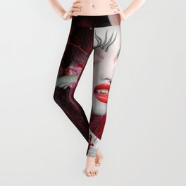 Red Queen Leggings
