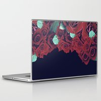 roses Laptop & iPad Skins featuring Roses by Eleaxart