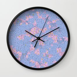 Spring Pattern Wall Clock