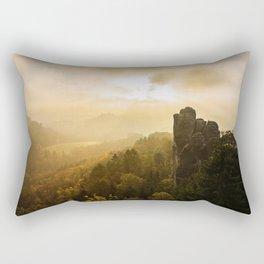 Elbe Sandstone Mountains Rectangular Pillow