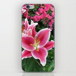 Stargazer Lily Magic iPhone Skin