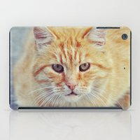 ginger iPad Cases featuring Ginger by LindaMarieAnson