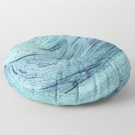 An insignificant maelstrom Floor Pillow