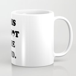 THIS IS NOT THE END. (ONE DIRECTION) Coffee Mug