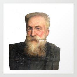 Auguste Rodin Portrait Art Print