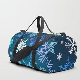 Snowflake pattern Duffle Bag