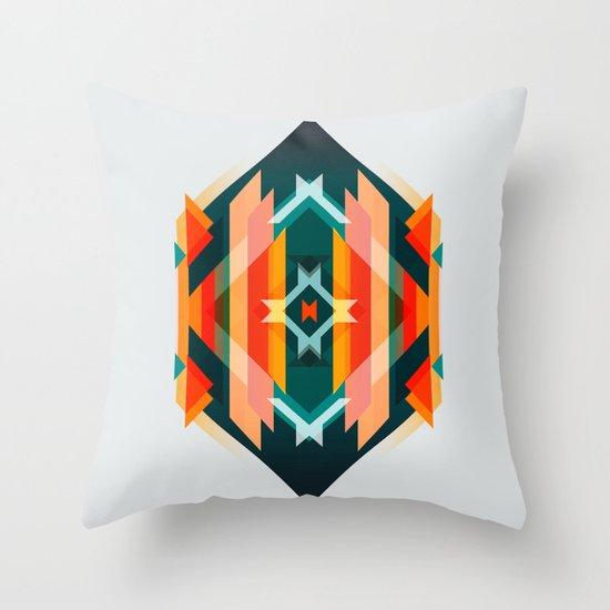 Broken Diamond - Incalescence Throw Pillow