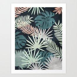 Tropicalia Night Art Print