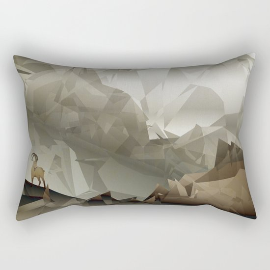 The Fortress Rectangular Pillow