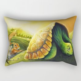 The Tortoise and the Hare Rectangular Pillow