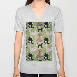 Cats Meadow Unisex V-Neck