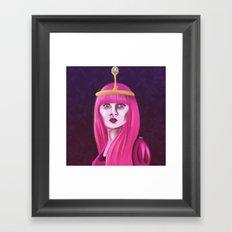 Bubblegum Princess Framed Art Print