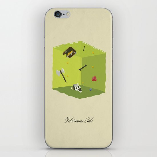 Gelatinous Cube iPhone & iPod Skin