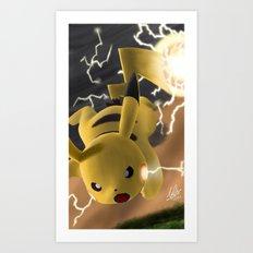 Electro Ball! Art Print