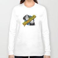 eddie vedder Long Sleeve T-shirts featuring Flo & Eddie by mazigazi