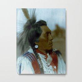 Rabbit Head - Hidatsa - American Indian Metal Print