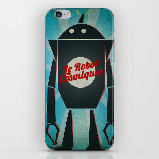 Le Robot Cosmiques iPhone & iPod Skin