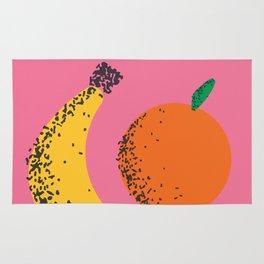 Banana + Orange Rug