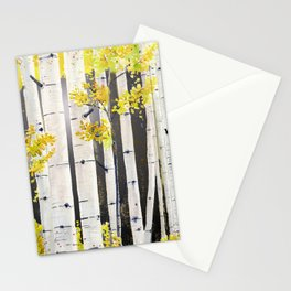 Birch Tree Stationery Cards