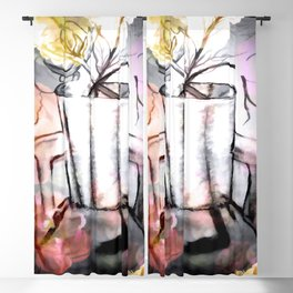 Nature's Inclination For Art Blackout Curtain
