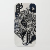 panda iPhone & iPod Cases featuring Panda by Feline Zegers