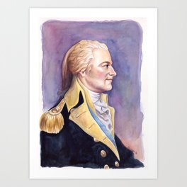 General Hamilton Art Print
