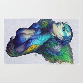 Peacock Queen Rug