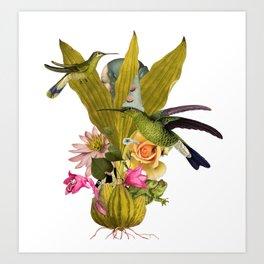 Magic Garden VII Art Print