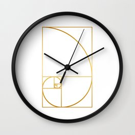 That's Golden I Wall Clock
