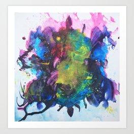 Watercolor Texture Art Print