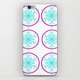 Dream-catching a Snowflake iPhone Skin