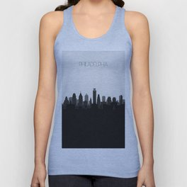 City Skylines: Philadelphia (Alternative) Unisex Tank Top