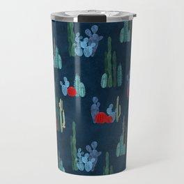 Cactus garden pattern Travel Mug