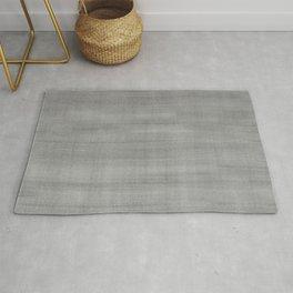 Pantone Pewter Dry Brush Strokes Texture Pattern Rug