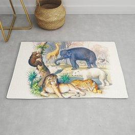 Jungle Friends - Exotic Animals Rug