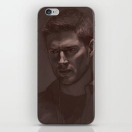 "Dean ""sanguine"" sketch iPhone Skin"