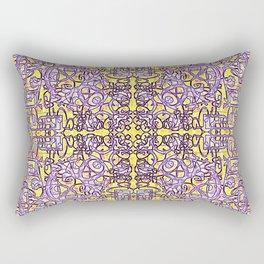 Fretwork in the Maze Rectangular Pillow