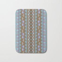 geometric ethnic ornament Bath Mat